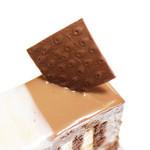 ラヴニュー - 飾りのチョコは恐らくアプリコット柄。