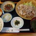 和料理 八車 - 冷しゃぶ定食