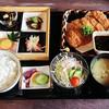 杜の穂倉邸 - 料理写真:とんかつ定食