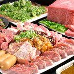 榮華亭 - 【な、なんと100種類!!】メガ焼肉食べ飲み放題コース 3400円~