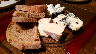 カーブ ロゼッタ - チーズ盛り合わせ♪