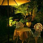 レストラン花の館 パラディ北野 - 日本庭園も