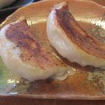 旬菜中華工房 - こちらもニンニクやニラを使っていない特製餃子。