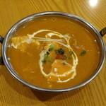 リトル・インディア - 豆富とチキンのカレー ※日替わりメニュー