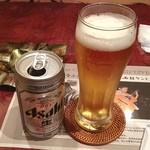 チープトリック - 昼酒にビール 美味い!