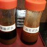 焼肉炉満亭 - 焼肉のタレ