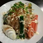 焼肉炉満亭 - 野菜サラダ