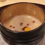 トゥ・ラ・ジョア - もち麦と豆乳のスープ (2013/10)