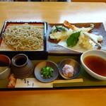 拓朗亭 - 上天ぷらおろし蕎麦