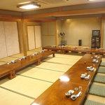 雀の宿 - 2Fの宴会場です。1Fはカウンター、個室があります。