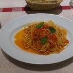 22270394 - トマトとバジルのスパゲッティ