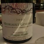ワインビストロ ベルジェ - フランソワ・ミクスキー       Meursault 1er Cru Genevrieres 2003