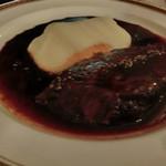 ワインビストロ ベルジェ - 信州牛ホホ肉の赤ワイン煮