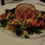 ワインビストロ ベルジェ - ズワイガニのガレット        たっぷりの野菜がいいですね