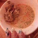 味ふく - 胡麻タレにラー油をいれて・・・坦々麺風にアレンジ☆