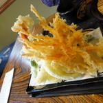 鬼うどん 金勝 - 野菜の天ぷら