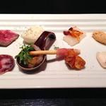 イル ポッツオ - planzo Bの前菜9種