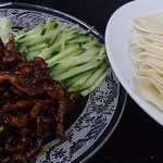 四季紅 - 豚肉と甘味噌炒め(880円)
