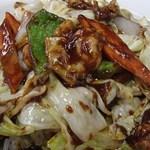 四季紅 - 回鍋飯(580円)
