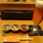 すし六法 - 生ビール