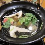 日本料理 旬坊 - 土瓶蒸し