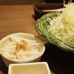 新宿さぼてん - かりかりジャコと大根サラダ