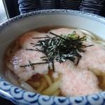 うどん・ど・りっち - 桃花(明太子+とろろ)