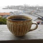 南町テラス - コーヒー300円 器もステキ♪