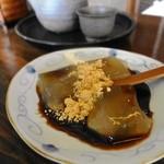 茶処 こ寿々 - わらび餅の小  300円位