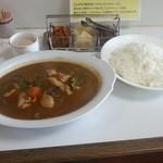 からす亭 - スープカレー1