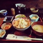 22285237 - 【湯葉とろろめし膳  1380円】とても京都を感じられるリーズナブルな感動のお膳です。