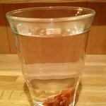 かっぱ - 焼酎のお湯割り紀州の梅入り