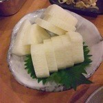 あみ焼 元祖 しちりん - 山芋のワサビ漬け