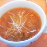 モスバーガー - 2013.11 生姜と醤油麹のスープ