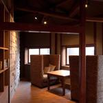 uchikawa六角堂 - 一番人気のカップルシート♫もう完全にふたりの世界ですよ。