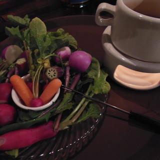 産地直送の野菜は自慢