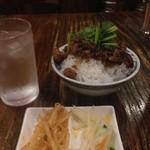 新台北 - 台湾肉味噌かけご飯(小)