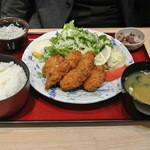 22295721 - カキフライ定食