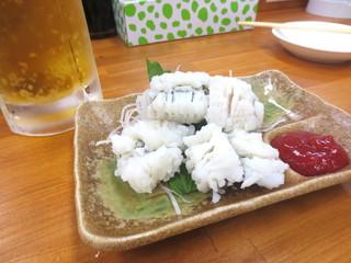 得一 尼崎店 - はも梅肉¥330