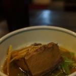 サスケ - コークハイにカマ味噌煮