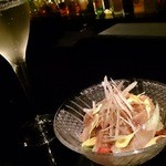 bar 祇園359 - 鮮魚のマリネ