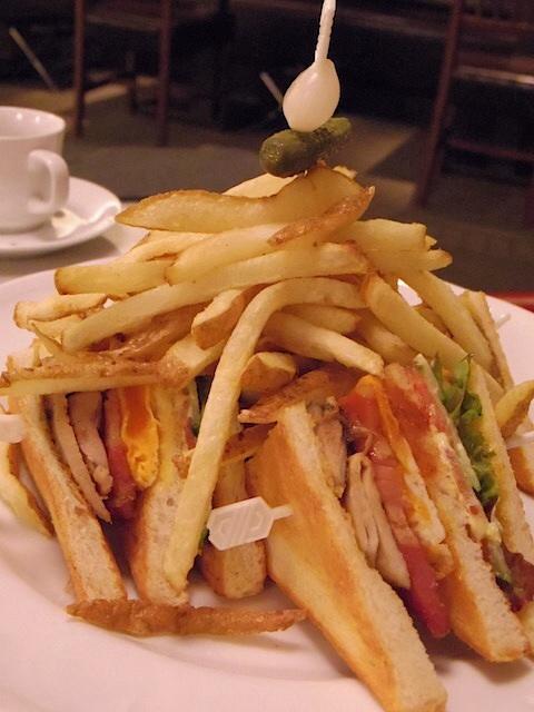 リジーグ - クラブハウスサンドイッチ