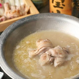鳥福の真骨頂・水炊き鍋