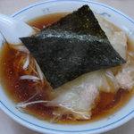 三ちゃん - ワンタン麺