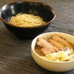 小川流 - 半ちゃーしゅーつけ麺
