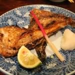 葵 - ブリカマ塩焼1000円