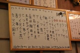 葵 - メニュー