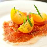 【シェフおまかせフルコースランチ】お魚・お肉料理の両方楽しめる全6品