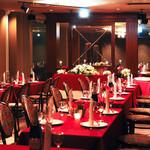 レストラン プリミエール - 貸切スペースでウエディングパーティーが叶います!美味しいお料理と豊富なドリンクメニューです!大切な仲間の結婚をお祝いしよう!
