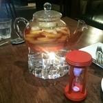 茅乃舎 - オレンジ・柿・りんご・洋梨・かぼすのフルーツティー(1,890円)・3杯取れます